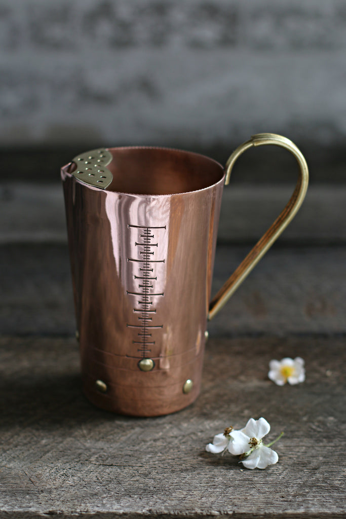 Vintage Copper Measuring Cup c. 1950