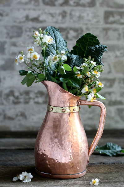 Vintage Copper Water Jug c. 1880