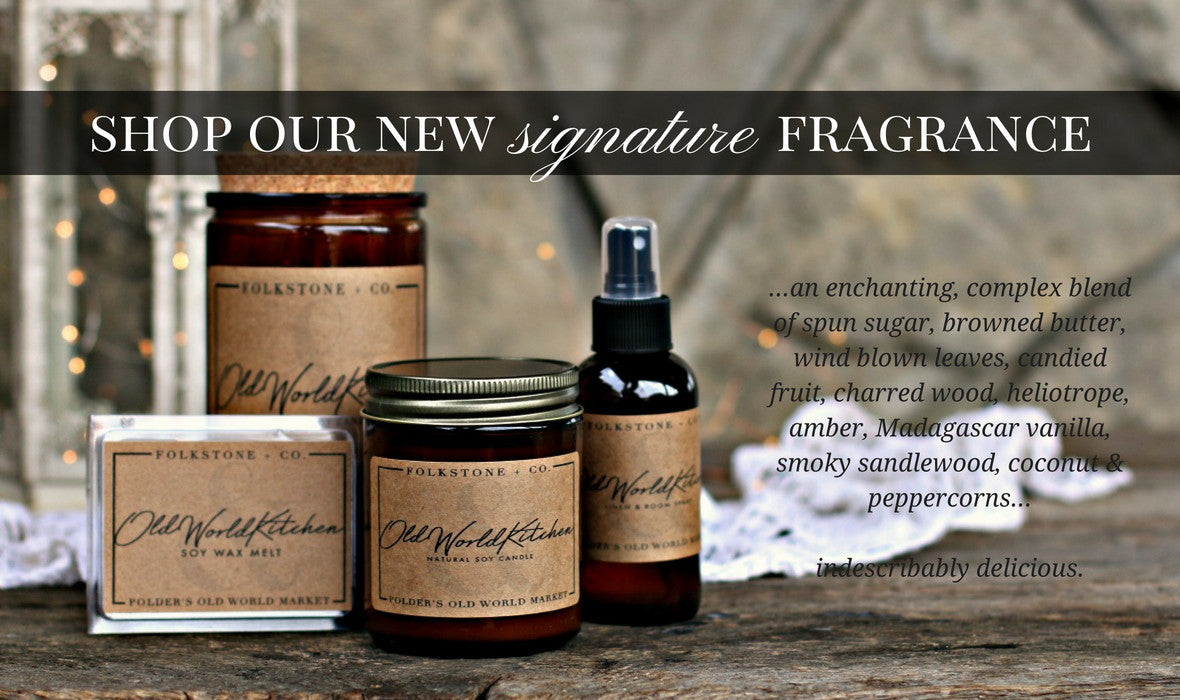 Shop our new candles, wax melts and linen spray!