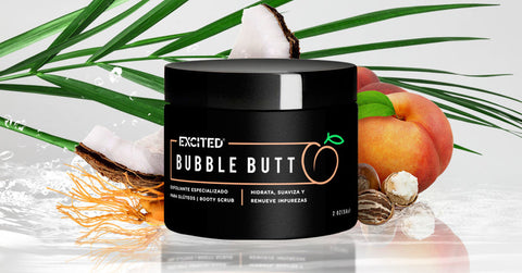 Bubble butt - exfoliante especializado para las pompas