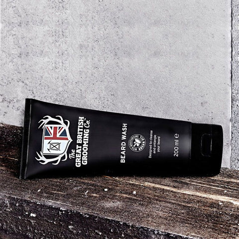 The Great British Grooming Co - Beard Wash Shampoo Limpiador de Barba