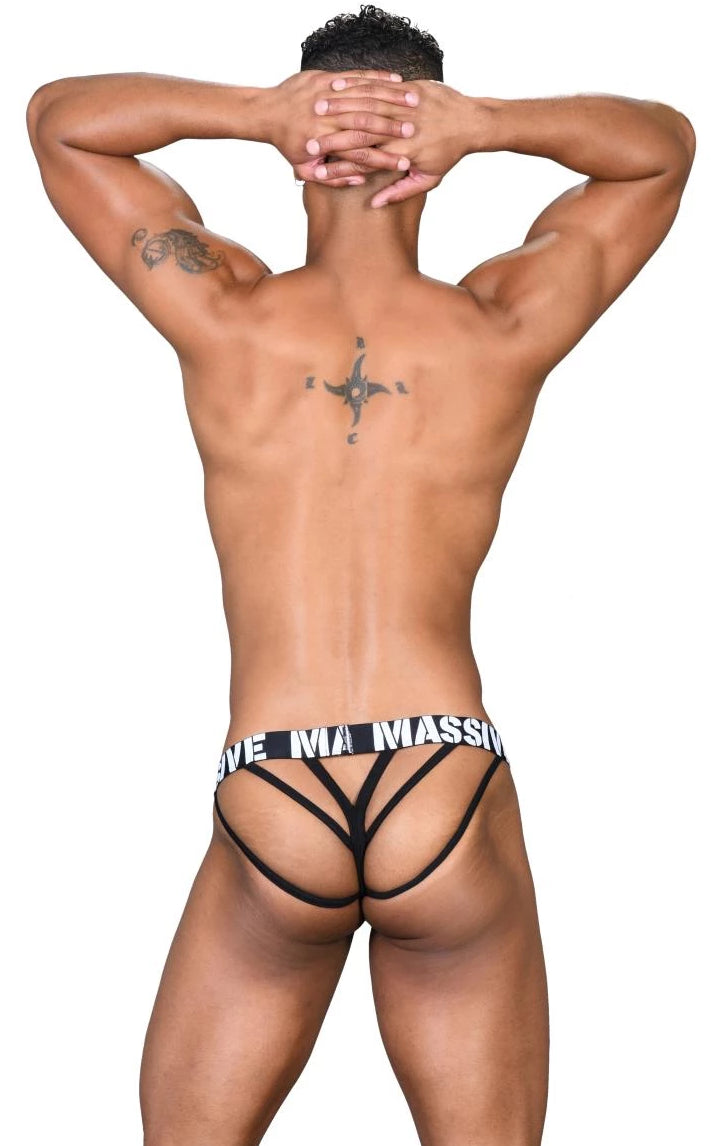 Andrew Christian - Tanga Massive Party Animal Print