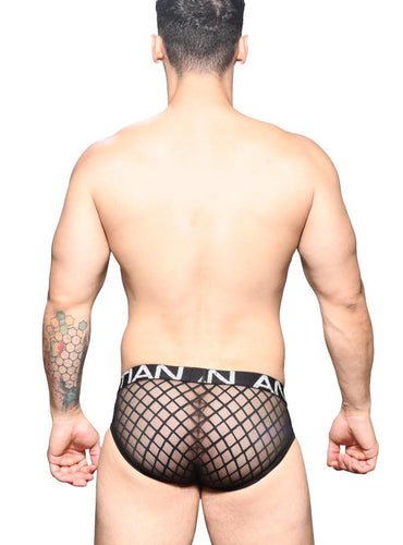 Trusa Lattice Lace Locker Room - Ropa Interior de Hombre - Andrew Christian