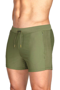 Teamm8 - Short Skipper Olive (Entrega Inmediata)
