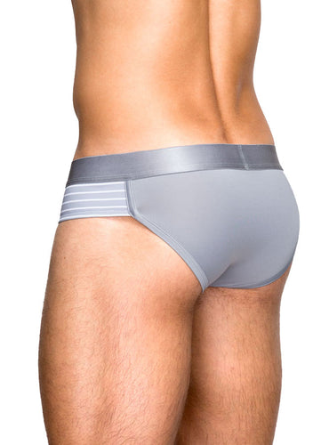 Teamm8 - Trusa Gladiador Silver (Brief)