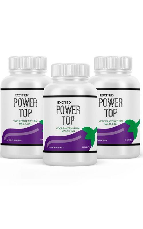Bienestar - Power Top 3-PACK - Vigorizante Natural Masculino (Envío Inmediato)