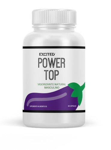 Bienestar - Power Top - Vigorizante Natural Masculino (Envío Inmediato)