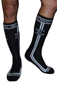 Calcetines Para Hombres - Breedwell - Calcetines Dirty By Choice Negros