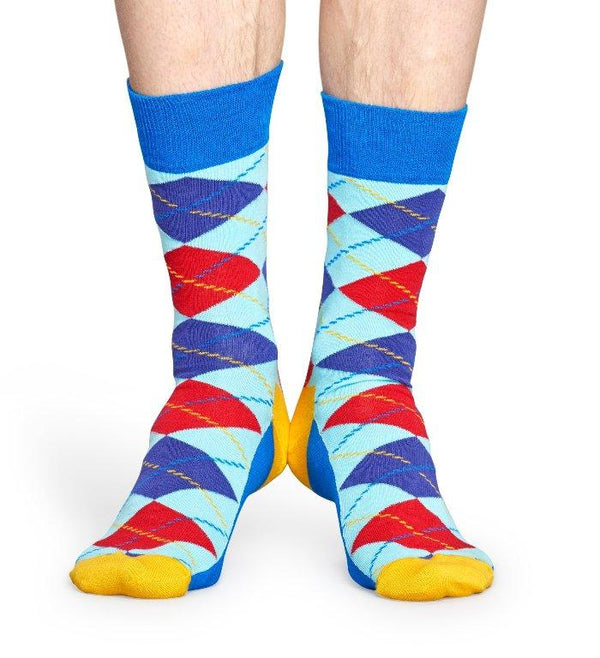 Calcetines Para Hombres - Happy Socks - Calcetines Con Rombos Man