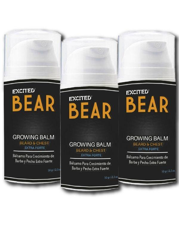 Cuidado De La Barba - BEAR 3-Pack