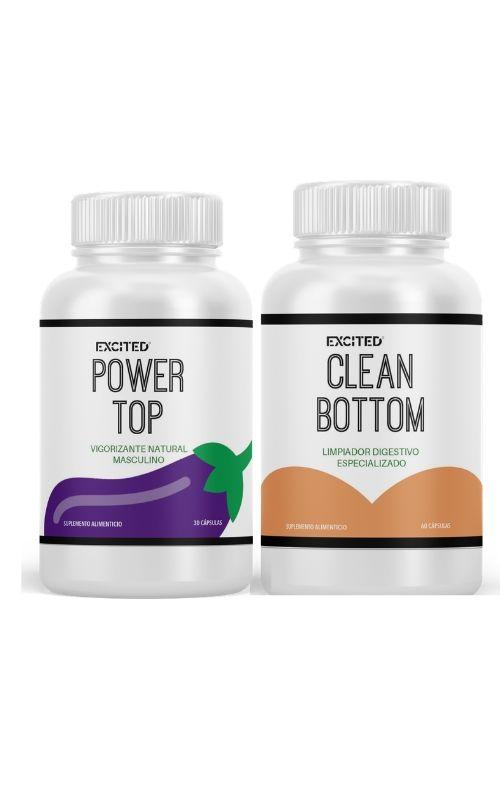 Cuidado Personal - Clean Bottom + Power Top KIT (Envío Inmediato)