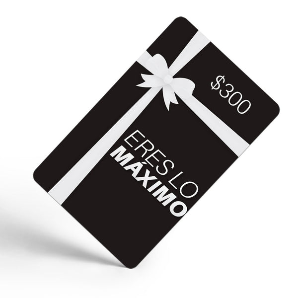 Gift Card - Tarjeta De Regalo EXCITED
