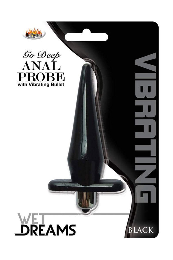 Plug Anal Vibrador Wet Dreams  (PREVENTA 🚛 Envío: 21 May)