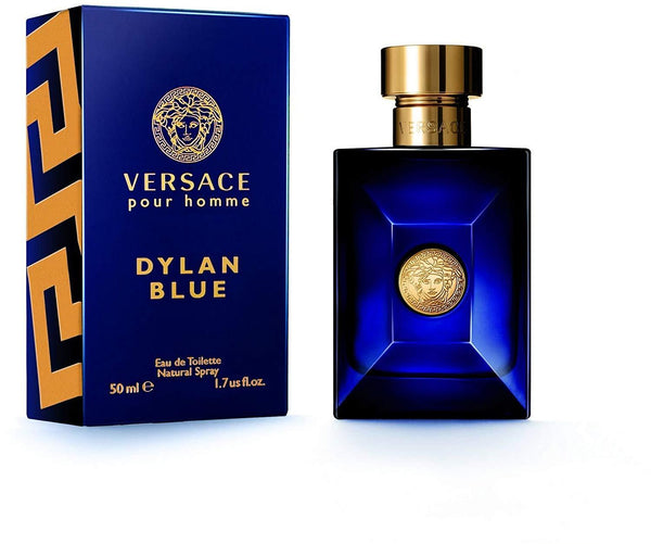 Locion, Hombre - Versace Pour Homme Dylan Blue For Men 50ml