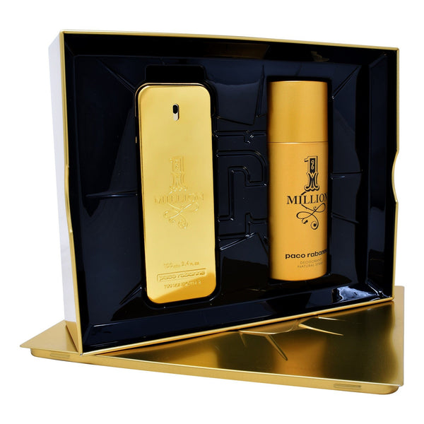 Locion Promo - Paco Rabanne – Set One Million 2PZS (EDT Spray 100ml + Desodorante 150ml)