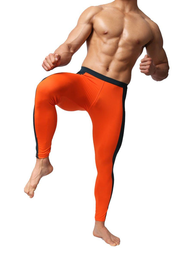 Brave Person - Yoga & Fitness Leggings Sport para hombres