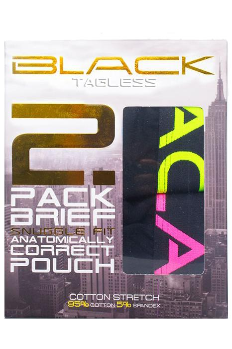 Ropa Interior - Andrew Christian - 2-Pack Trusas Black Collection