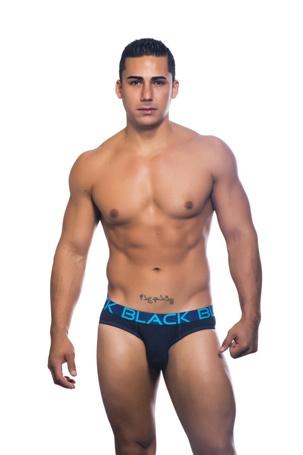 Ropa Interior - Andrew Christian - 2-Pack Trusas Edición Azul (Black Collection)