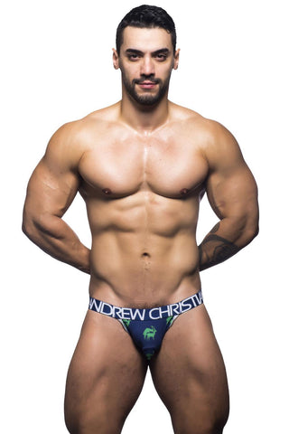 Ropa Interior - Andrew Christian - Suspensorio Buck Buddy Con Almost Naked