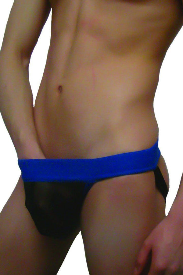 Ropa Interior - Suspensorio Mesh Black Royal Jock (Envió Inmediato)