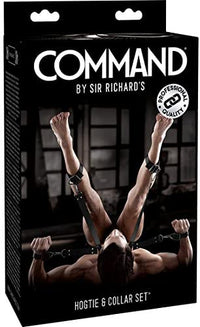 Sexualidad Masculina - Command By Sr Richard - Atadura + Collar  (PREVENTA