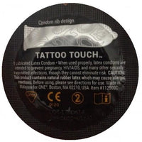 Sexualidad Masculina - ONE - Condón Tattoo Touch Texturizado 1pz