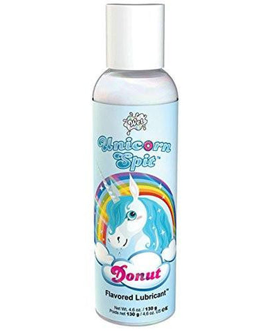 Sexualidad Masculina - WET - Lubricante Unicorn Spit Sabor Dona 130 Ml