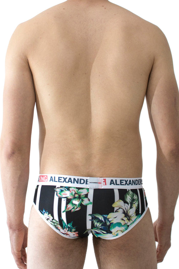 Alexanders King - Trusa Mictlán brief estampado flores