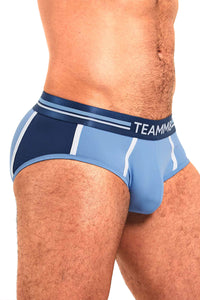 Trusa Base MidBlue Brief - Ropa Interior de Hombre - Teamm8