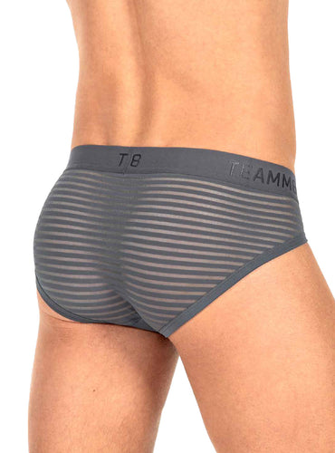 Trusa Gemini Sheer Brief Gris (PREVENTA 🚛 Envío: 07 Feb)