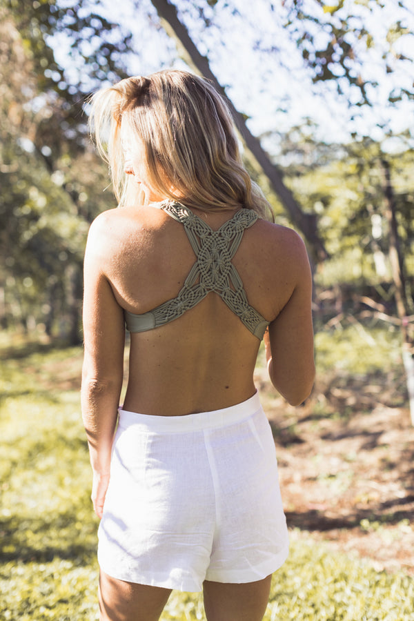 Macrame Crop (Pre-Order available)