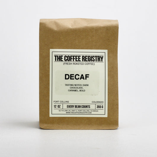 Decaf Blend (espresso and brewed)