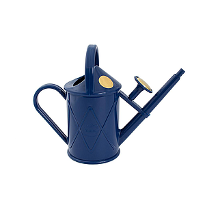 Watering Can- Plastic Heritage Blue