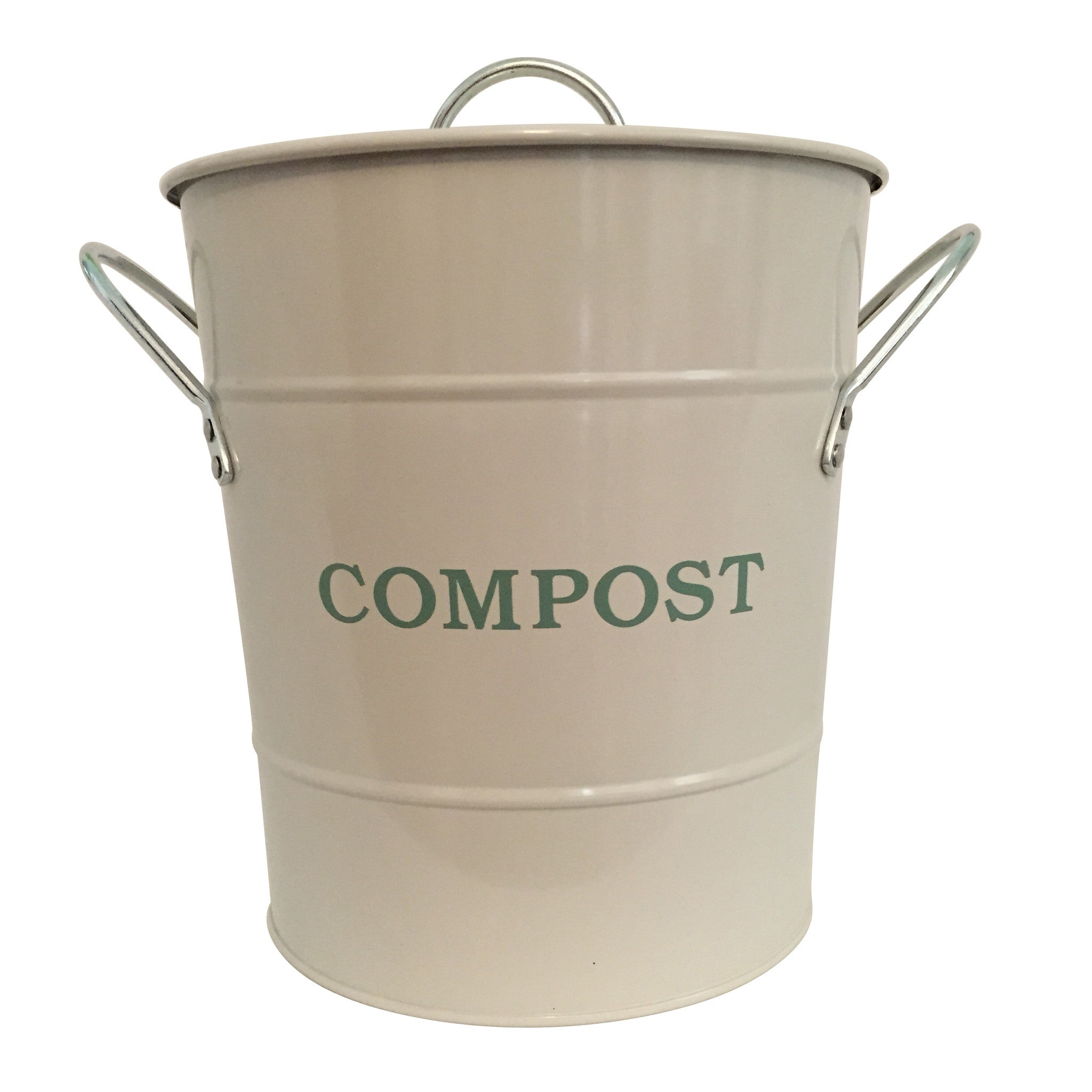 Compost Bucket - Chalk - The Potting Shed Garden Tools