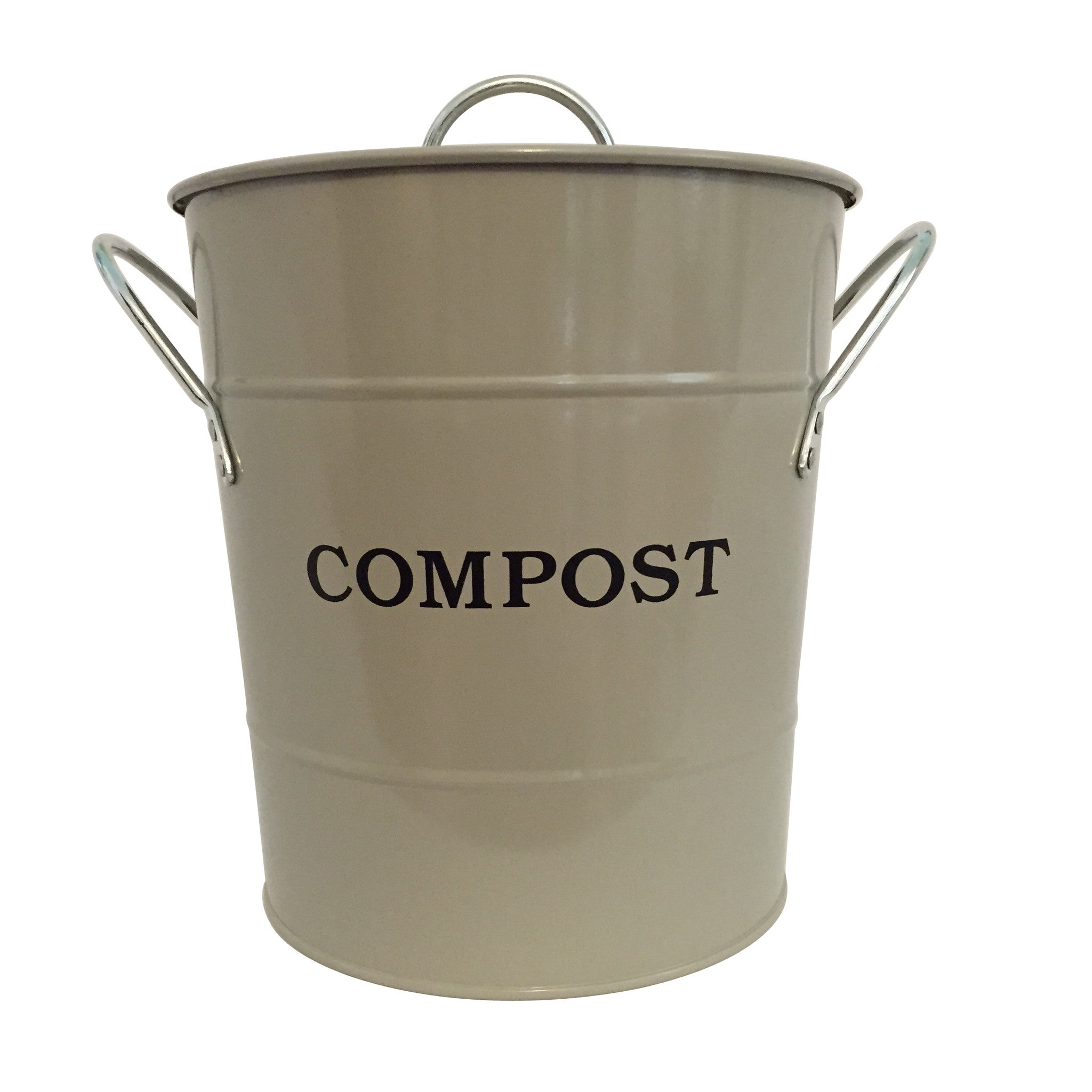 Compost Bucket - Clay - The Potting Shed Garden Tools