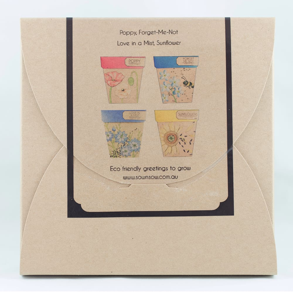 Gift of Seeds - Flower Seed Gift Set