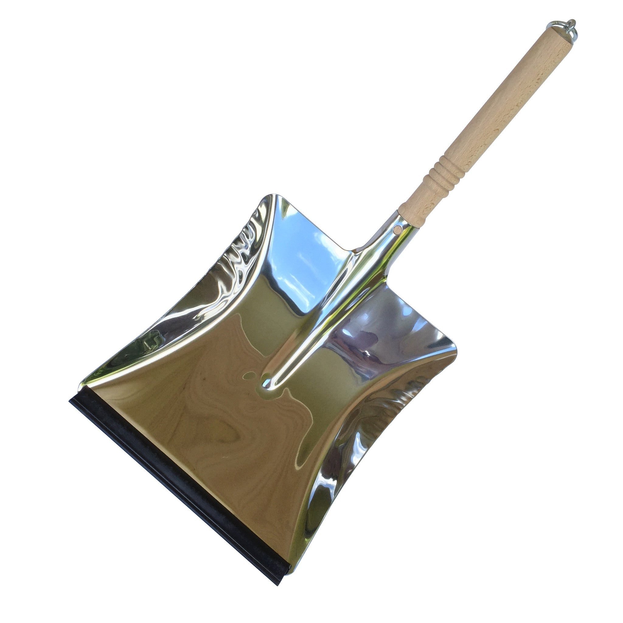 Dust Pan - Stainless Steel - The Potting Shed Garden Tools