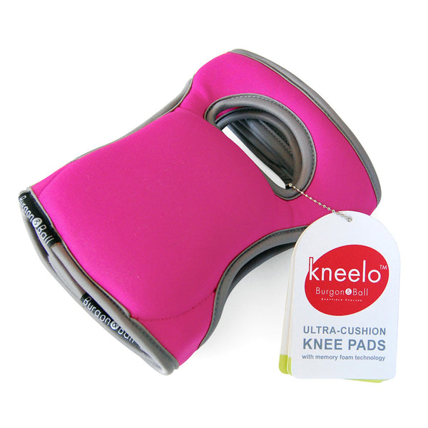 Kneelo Knee Pads - Fuchsia - The Potting Shed Garden Tools