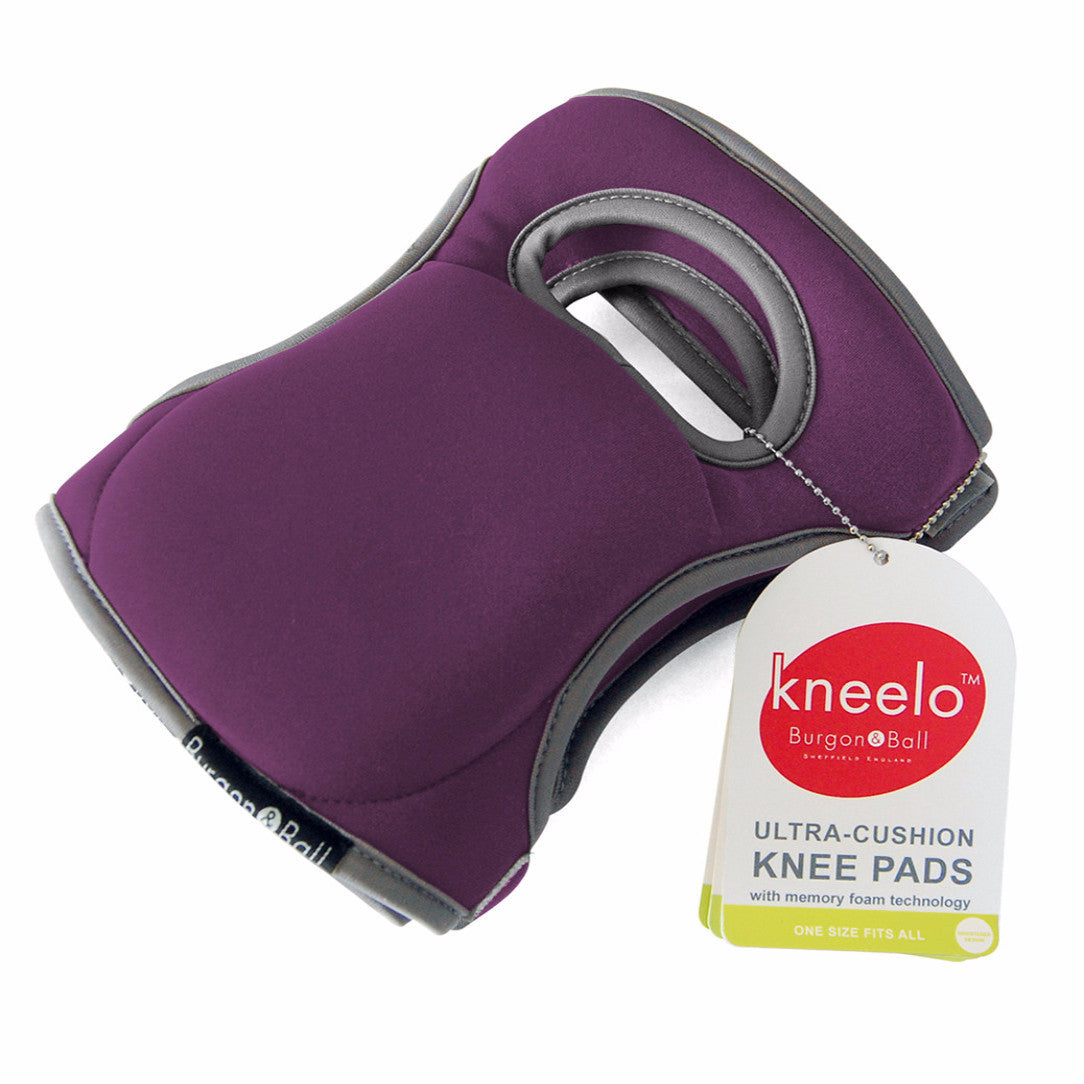 Kneelo Knee Pads - Plum - The Potting Shed Garden Tools