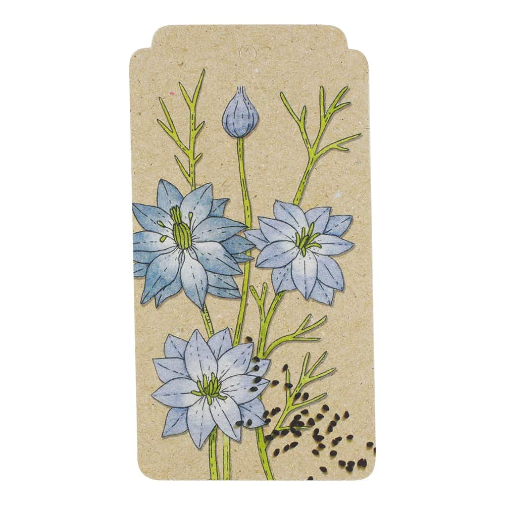 Love In A Mist Gift Tag