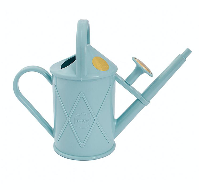 Watering Can - Plastic Heritage Duck Egg Blue