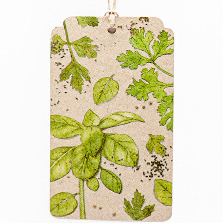 Herb Gift Tag - The Potting Shed Garden Tools