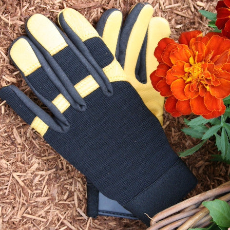 Gold Leaf Gloves - Soft Touch - The Potting Shed Garden Tools