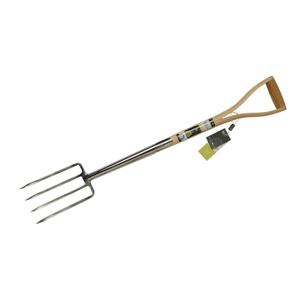 Border Fork - Stainless Steel - The Potting Shed Garden Tools