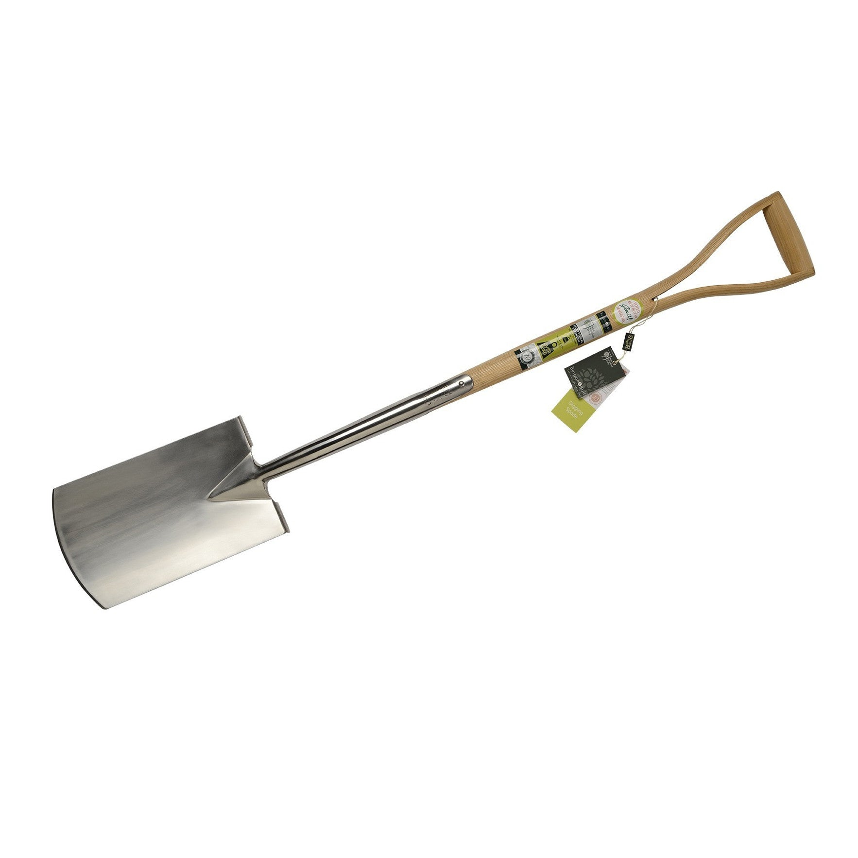 Digging Spade - Stainless Steel - The Potting Shed Garden Tools