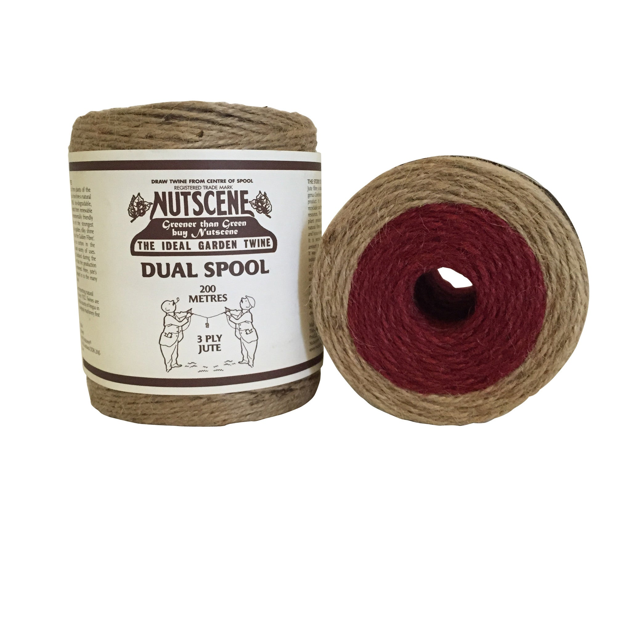 Dual Coloured Twine Rolls - The Potting Shed Garden Tools