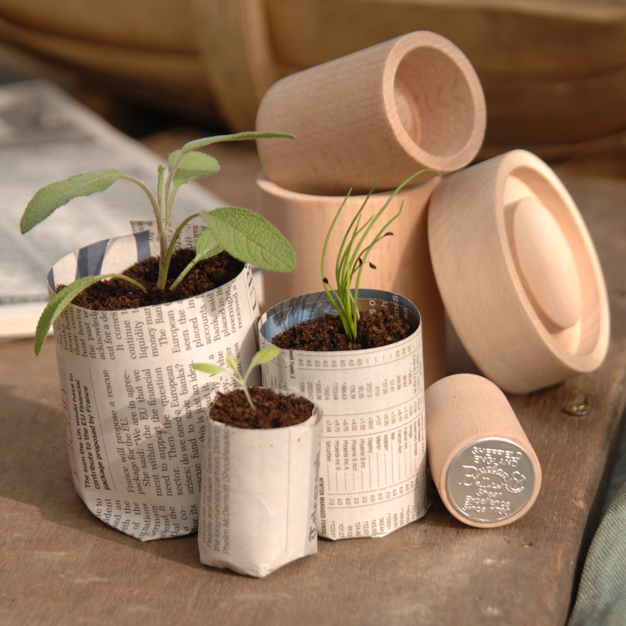 Eco Potmaker - The Potting Shed Garden Tools
