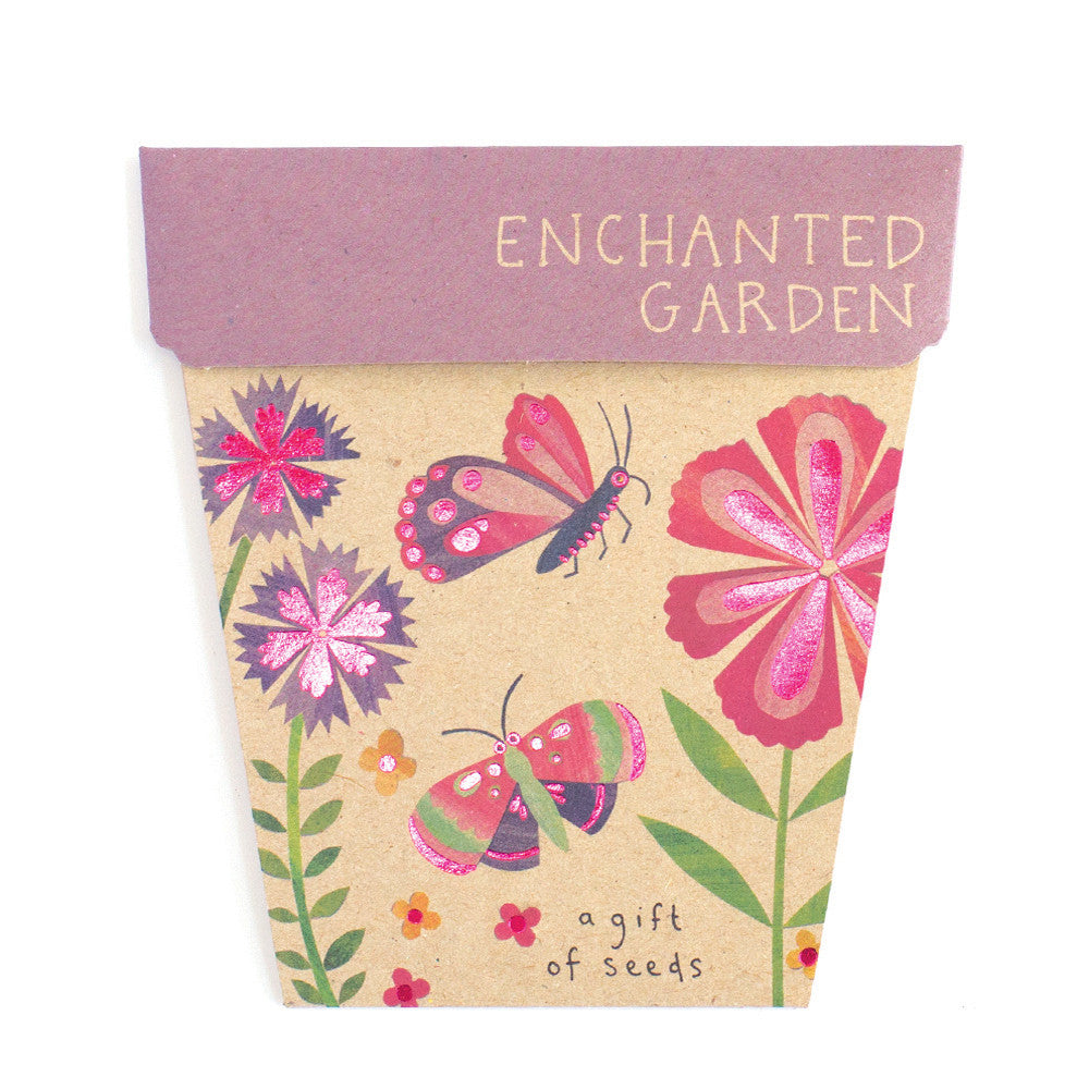 Enchanted Garden Gift of Seeds Card - The Potting Shed Garden Tools