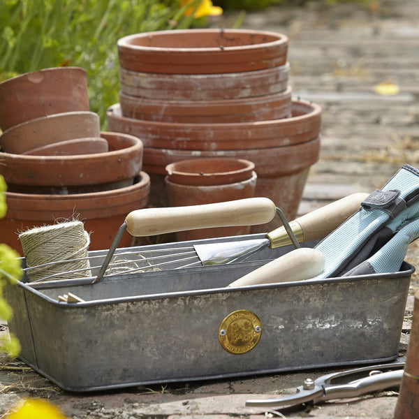 Galvanised Trug - Sophie Conran - The Potting Shed Garden Tools