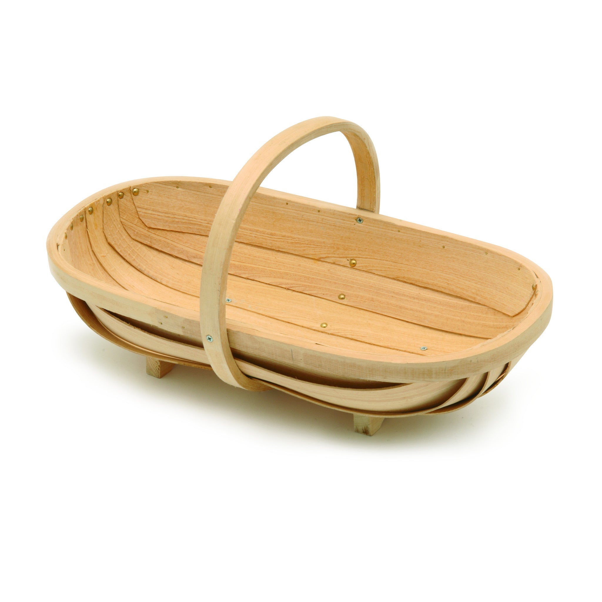 Traditional Wooden Trug - Medium - The Potting Shed Garden Tools